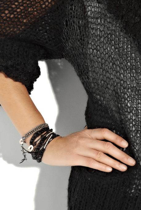 DIY gør det selv wrap around perlearmbånd