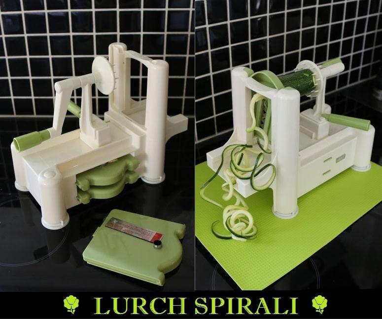 spiralizer, grøntsagsnudler, spagettimaskine, Lurch Spirali