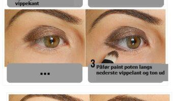 Perfekt smokey eyes – trin for trin