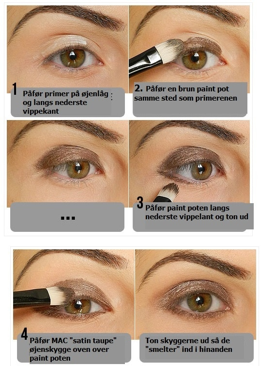 Perfekt smokey eyes - trin for trin