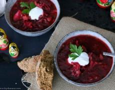 vintermad, suppe, borsch, rødbedesuppe