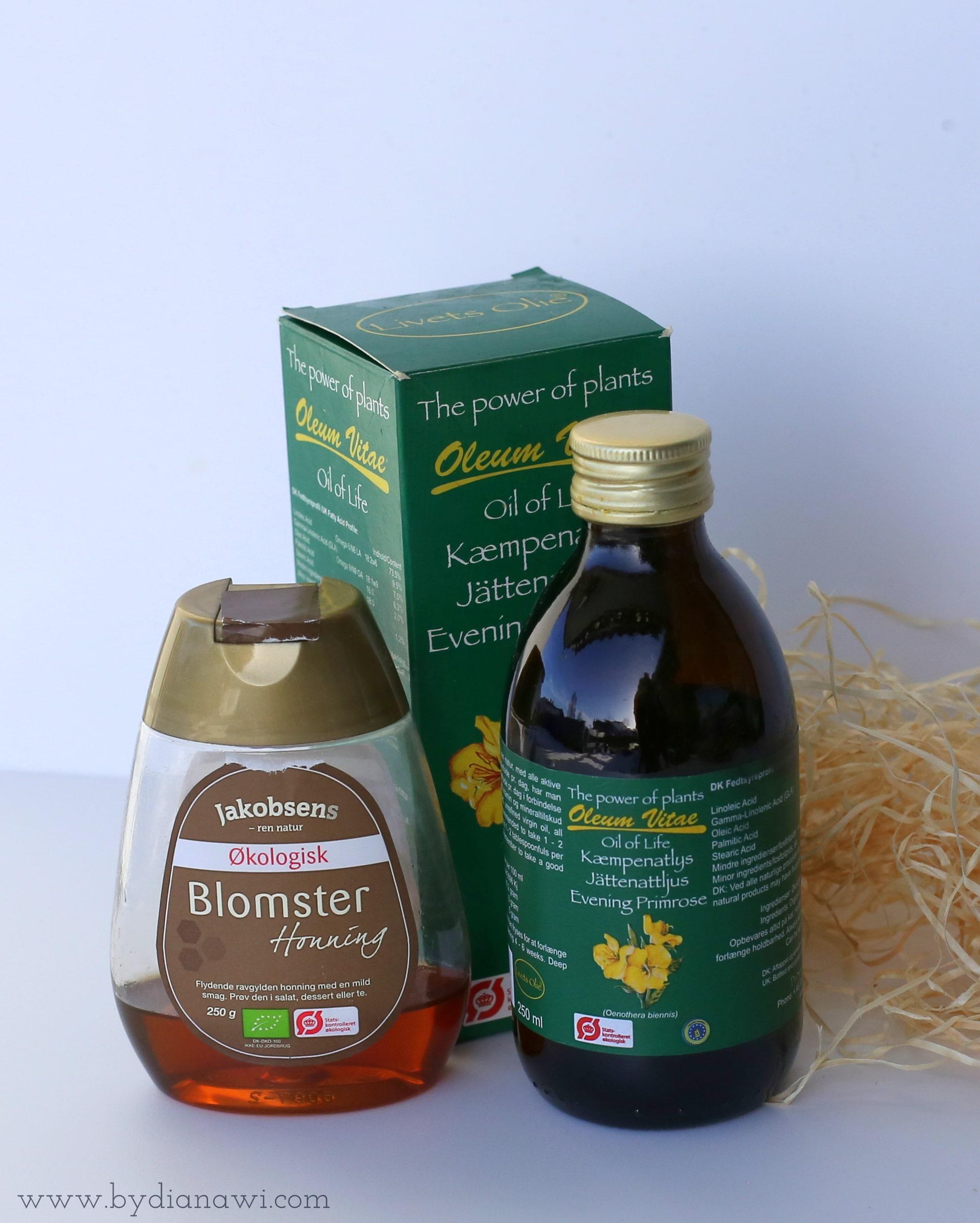 granola opskrift, kæmpenatlysolie