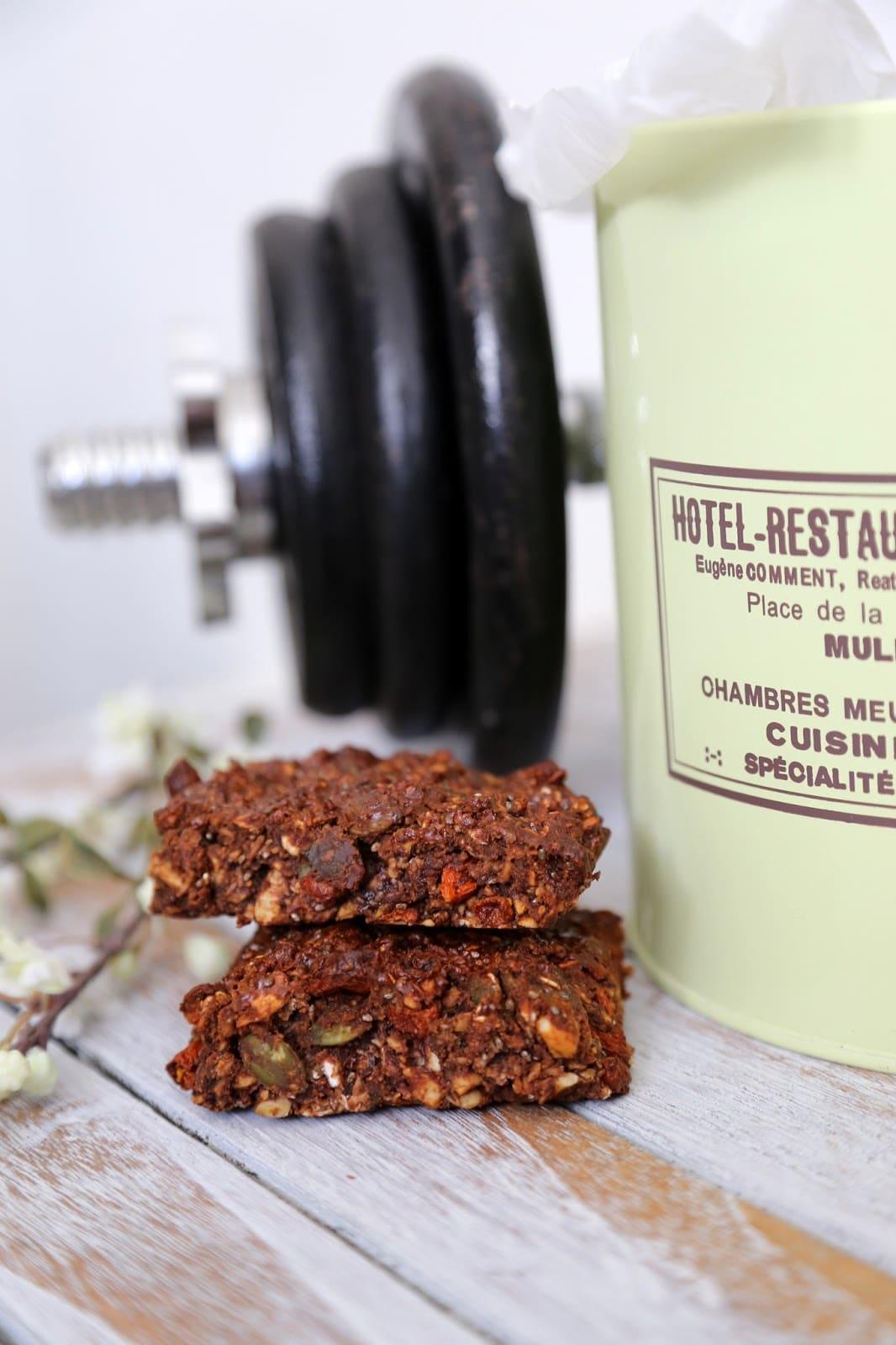 proteinbar opskrift, sund mellemmåltid