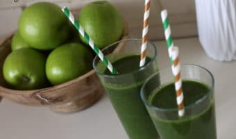 Nem og sund grøn smoothie