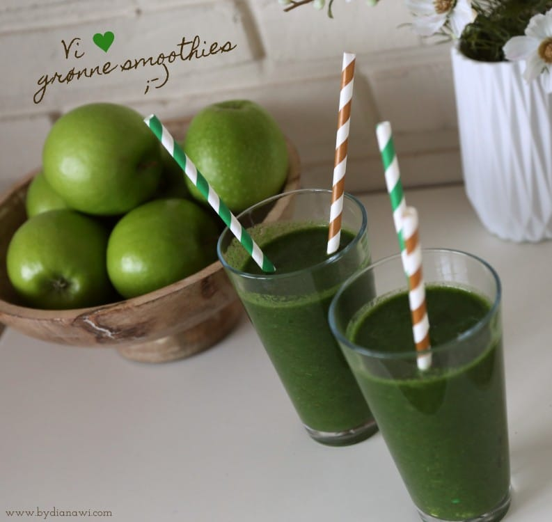 grøn smoothies