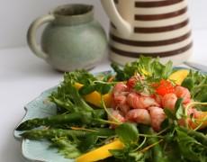 Salat, Forret, Fisk