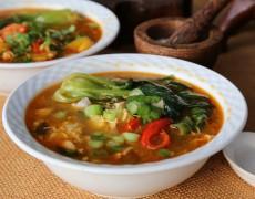 Suppe, Hovedret, Varm mad