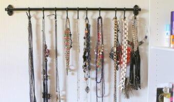 Smart smykke organisering // Jewelry organizer