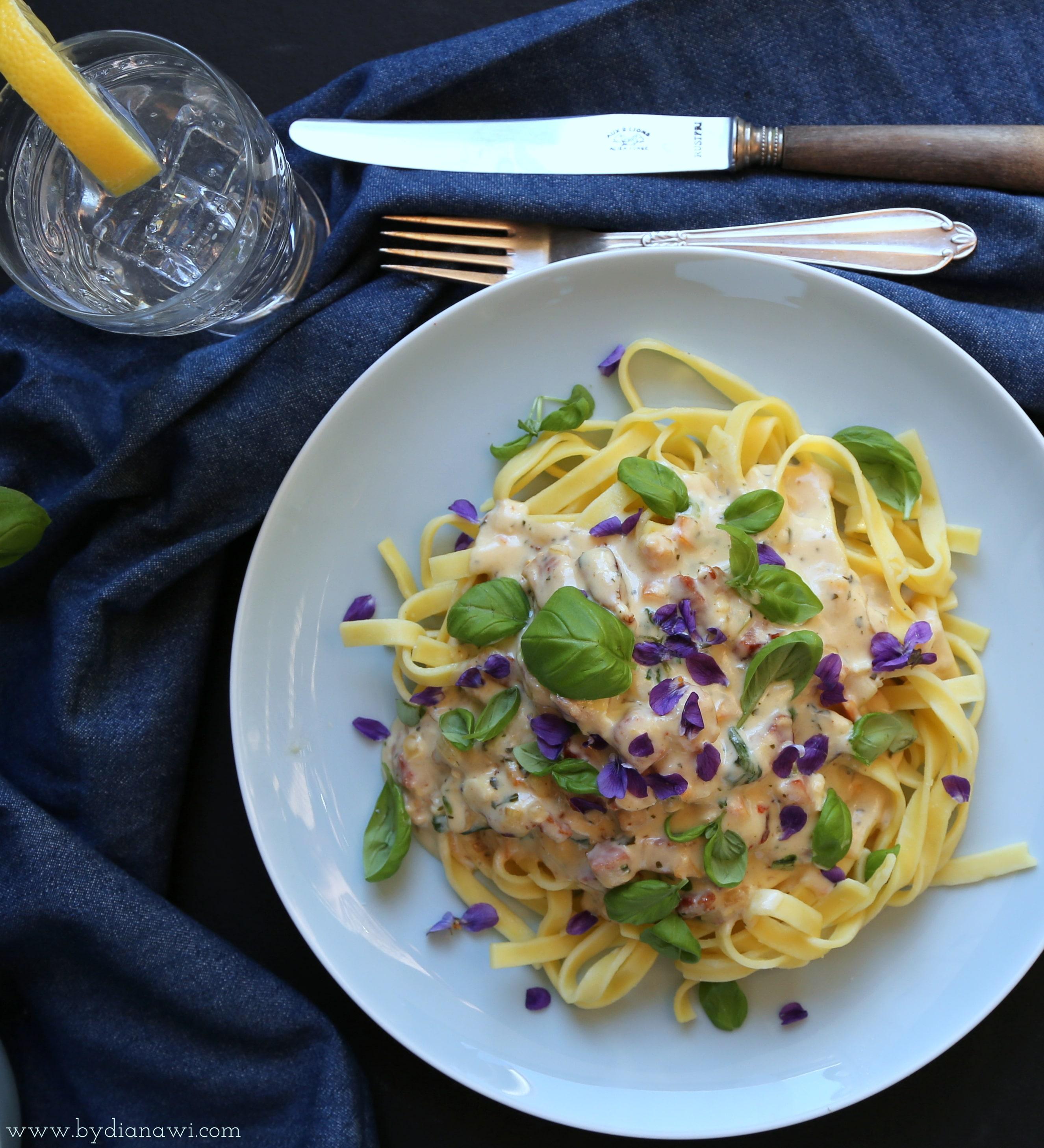 Opskrift på pasta Carbonara italiana