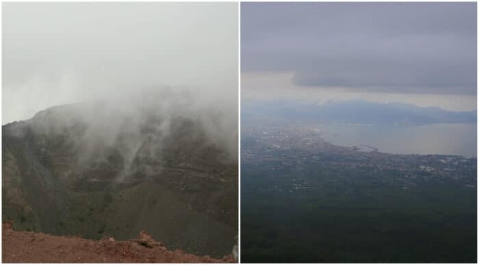 vesuvio vulkan, pompei, rejseguide