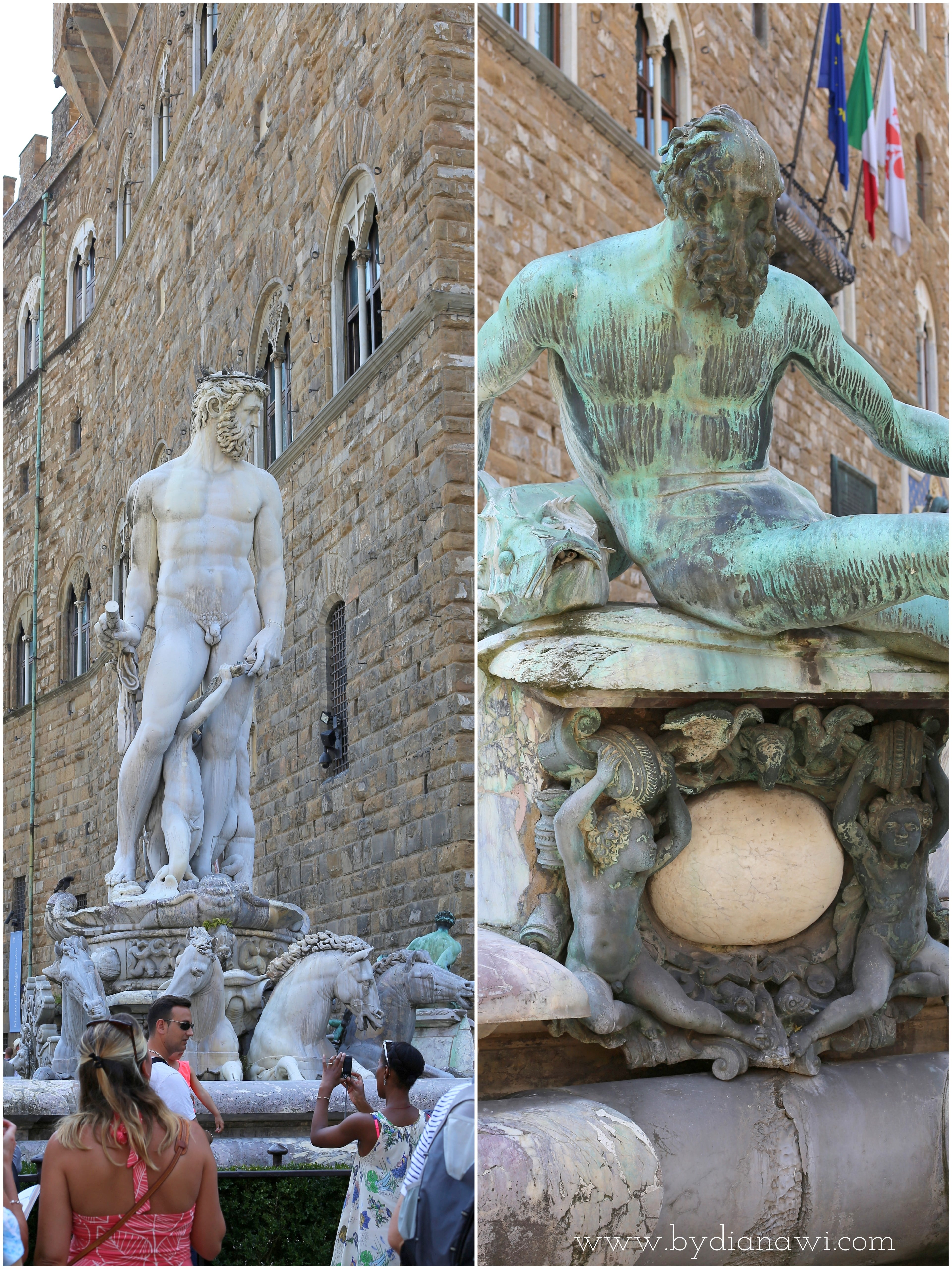Piazza Della Signoria, Neptun-fontænen, Firenze