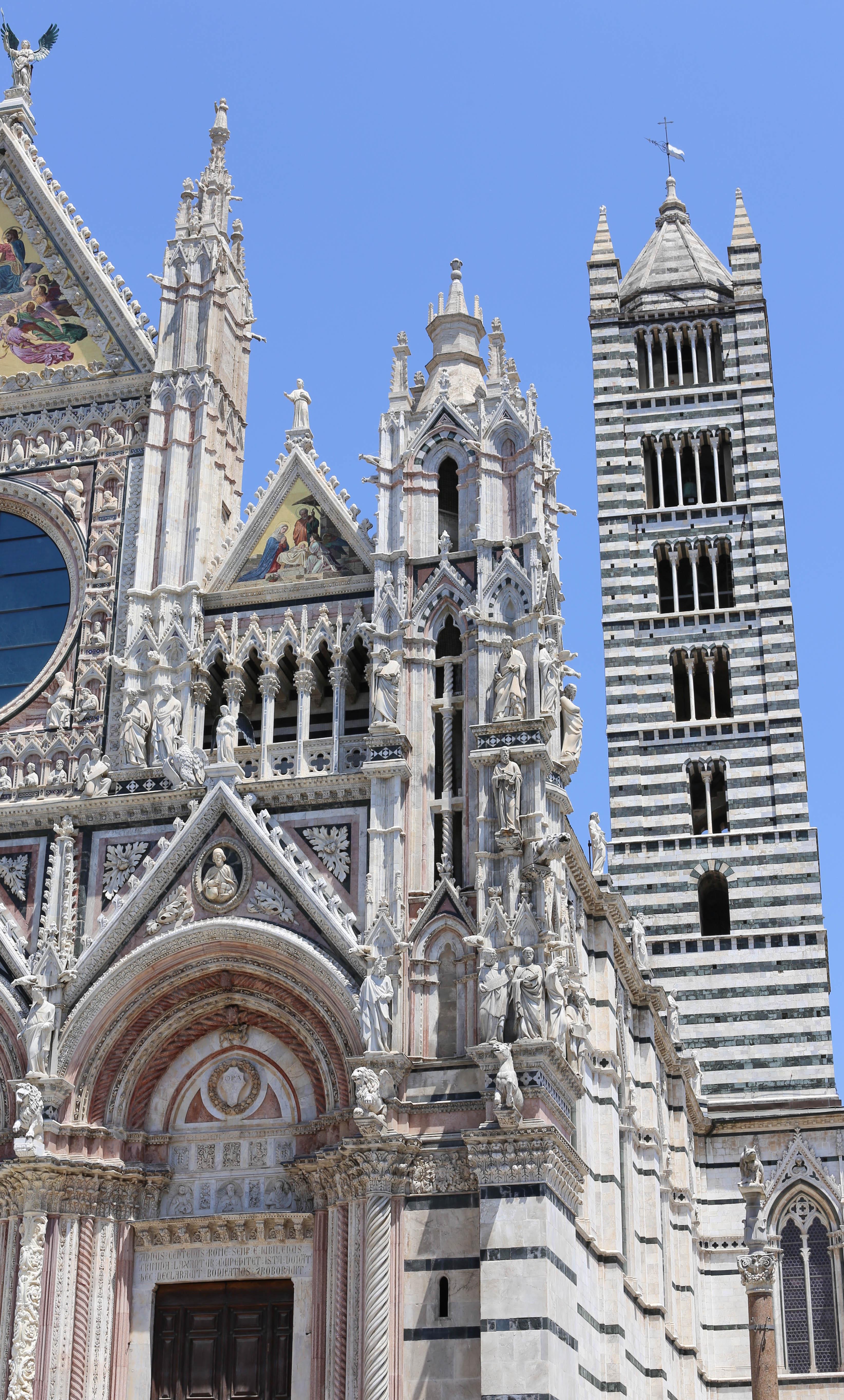 Duomo Domkirken i Siena, Toscana italien rejseguide