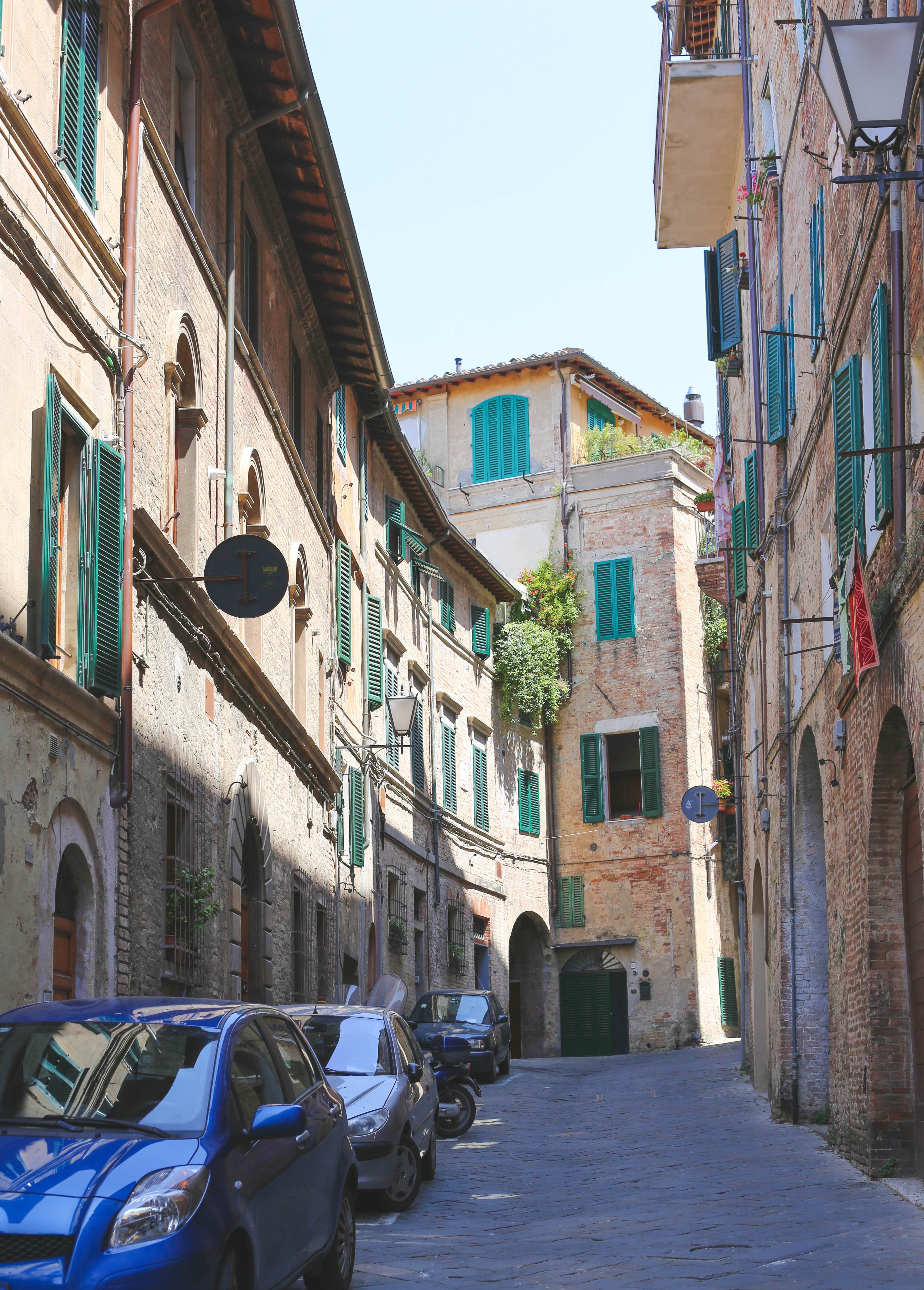 Toscana rejseguide, Siena