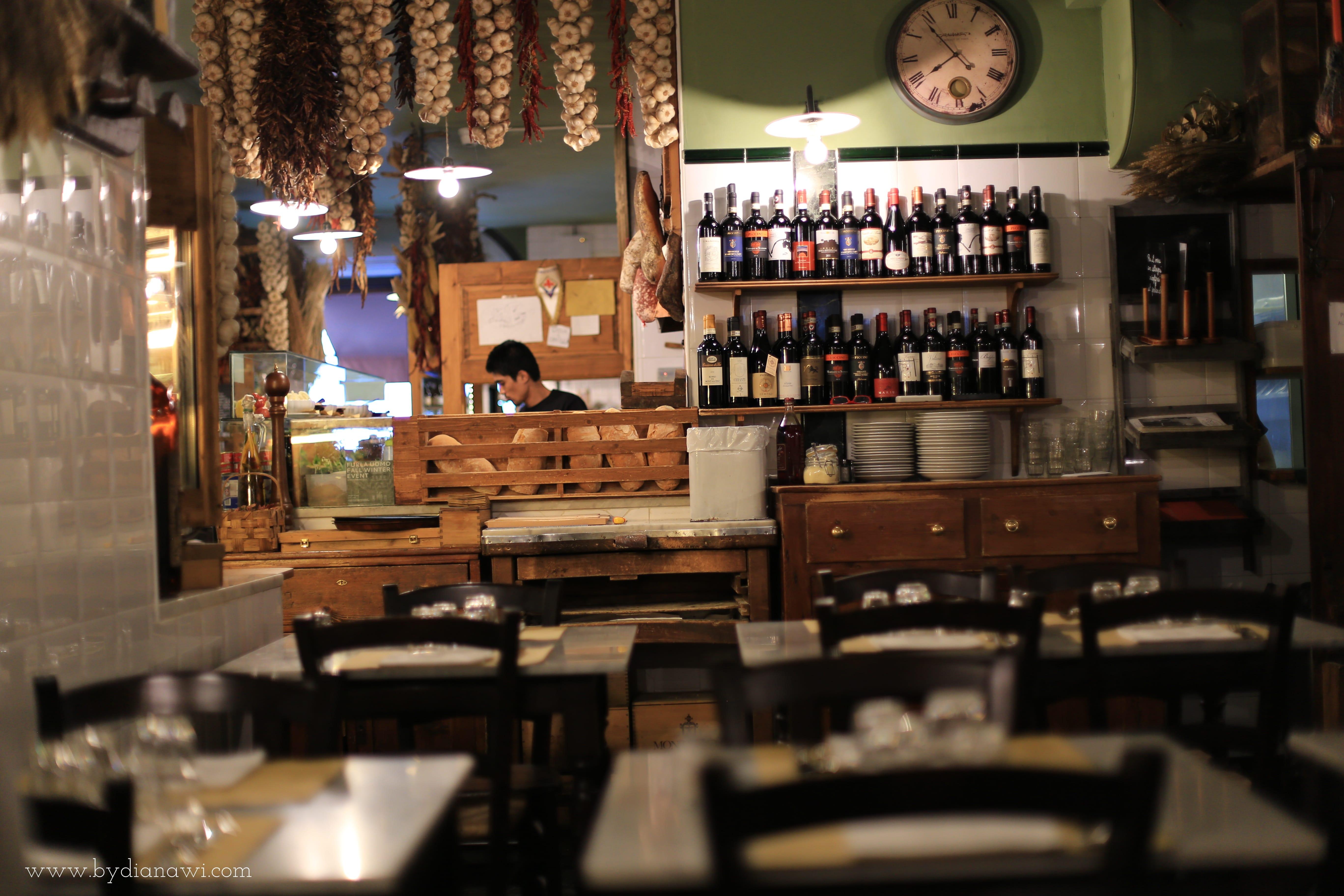 Spisesteder i Firenze