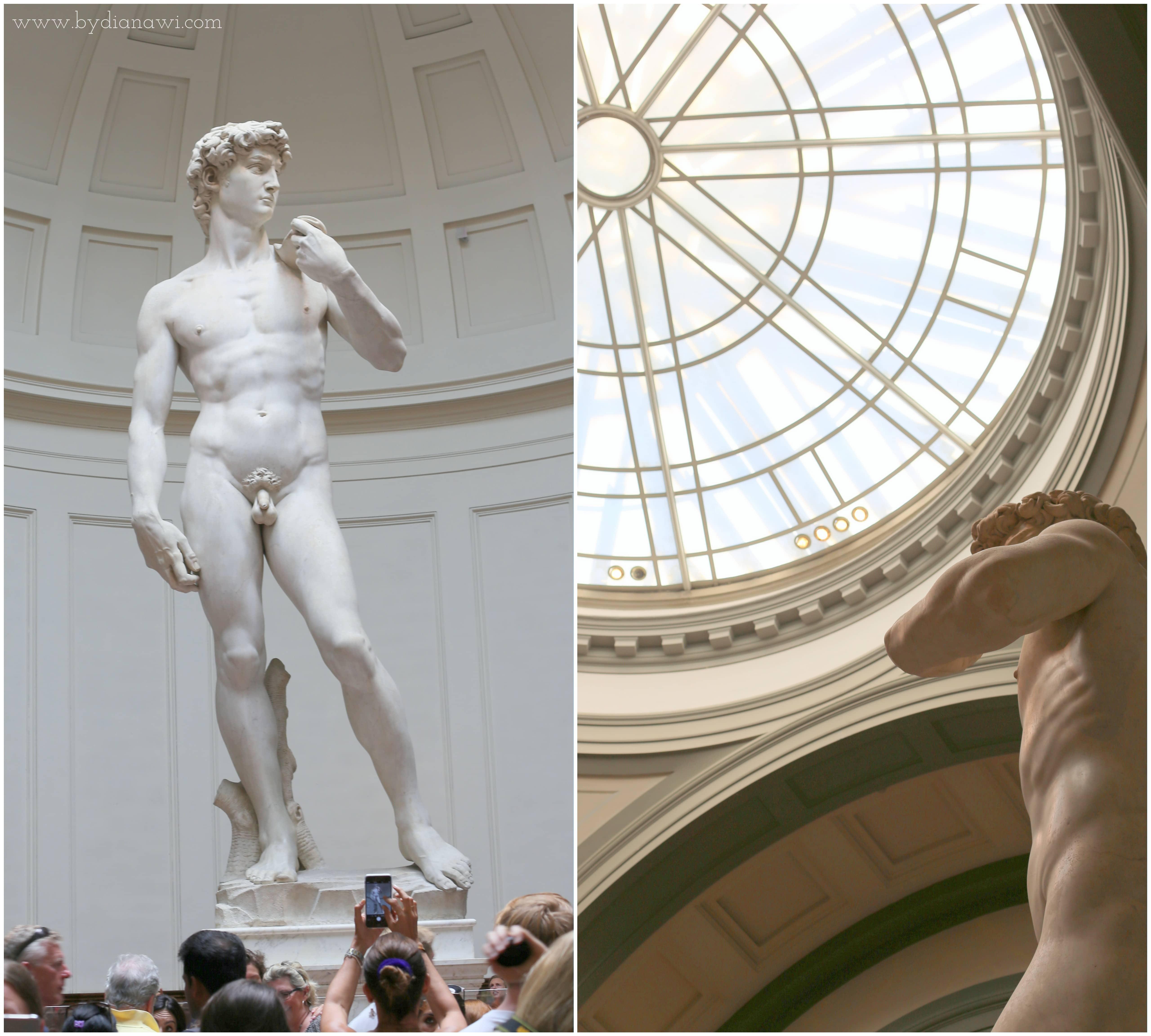 Galleria dell' Accademia, Kunstakademiet, Firenze, David,