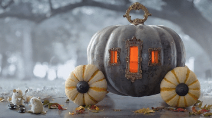halloween askepot græskar