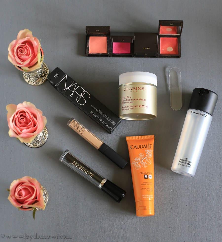 Makeup og hudpleje favoritter i oktober