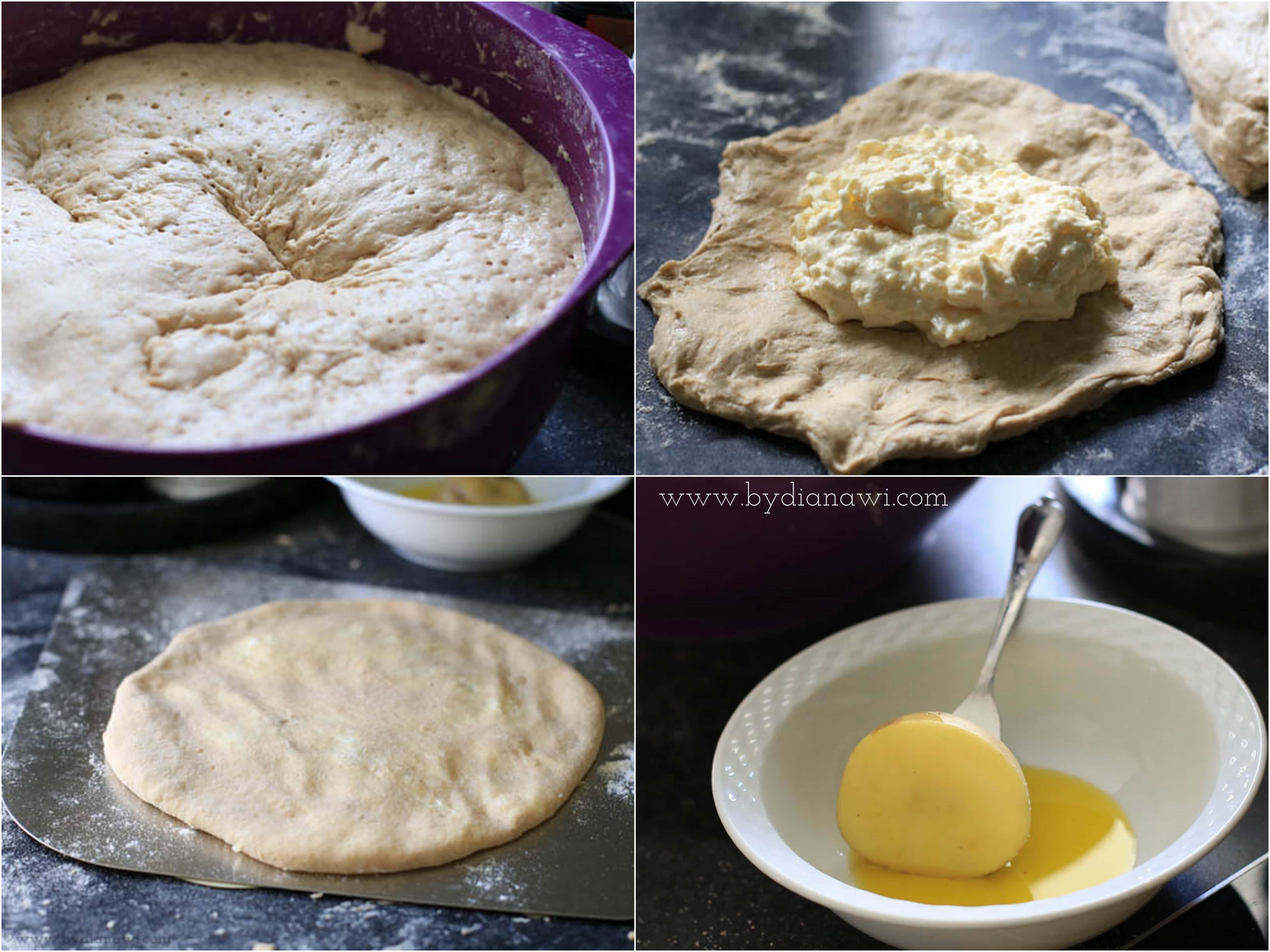 georgisk brød med ostefyld, madbrød