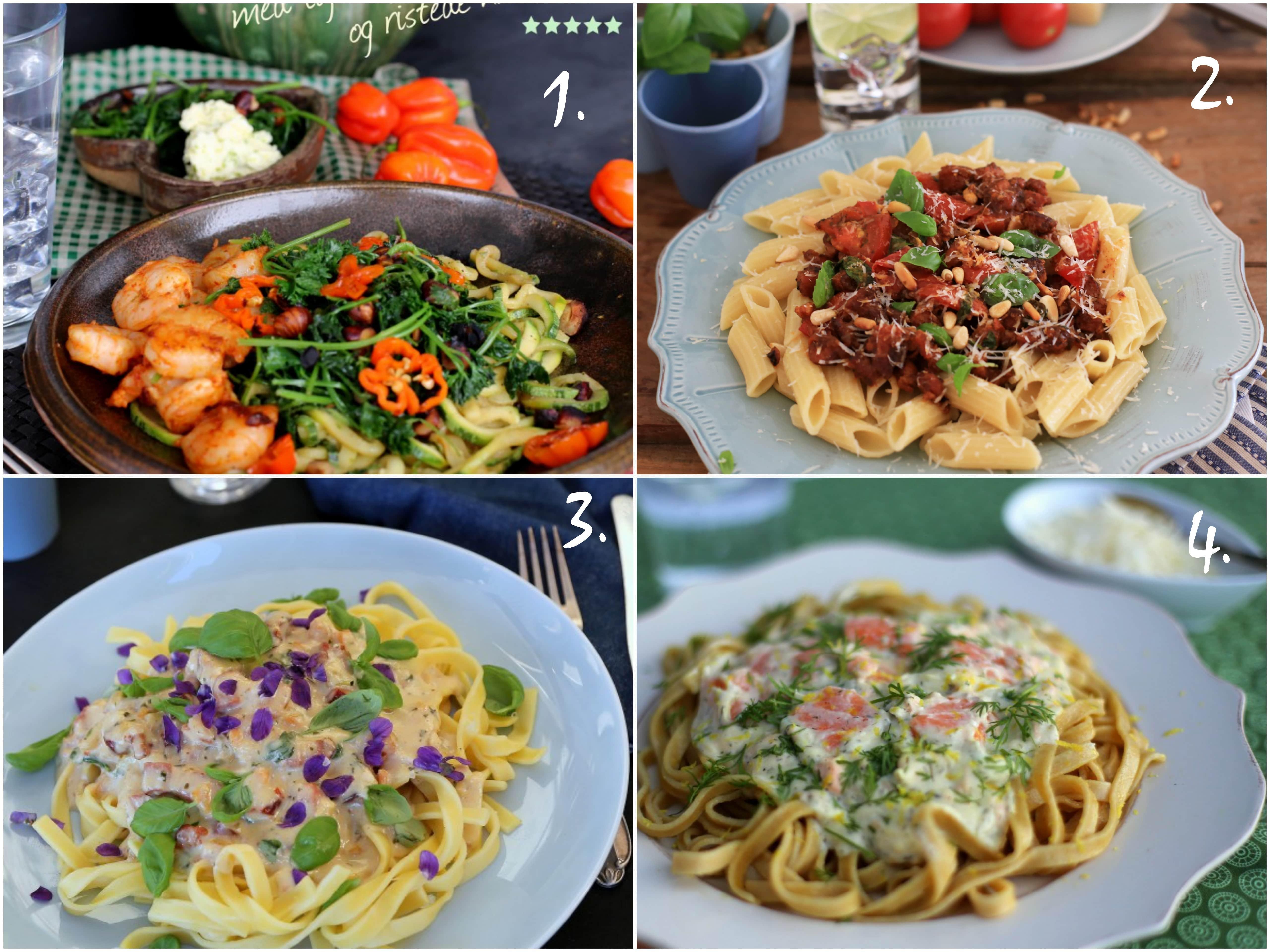 4 ideer til lækker aftensmad