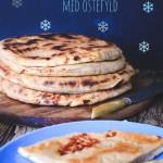 Georgisk indbagt flatbrød med ostefyld