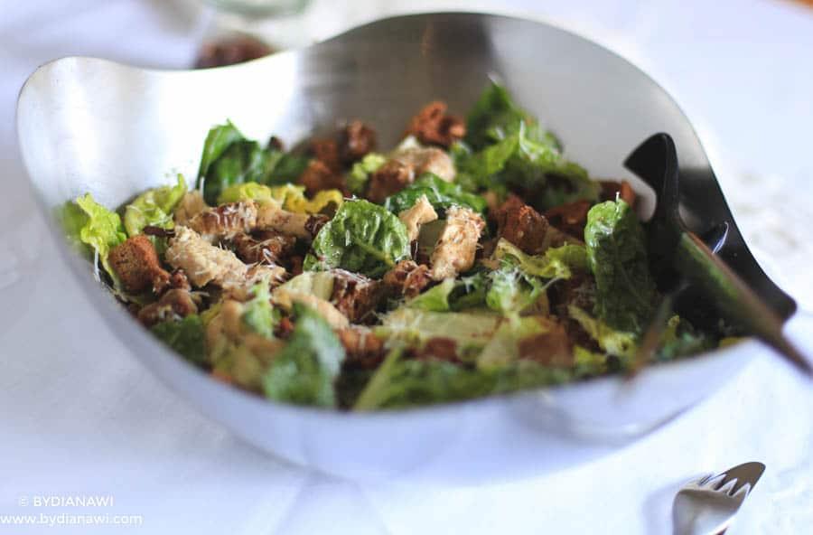 cæsar salat opskrift