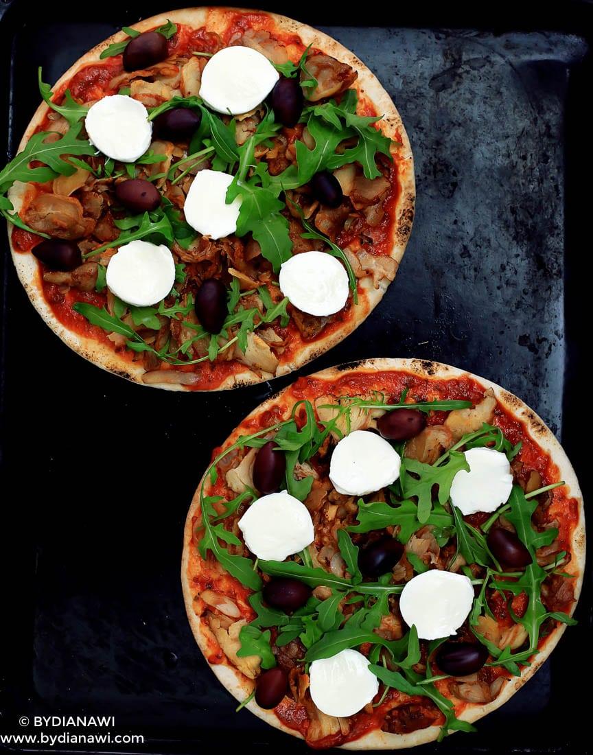 nem kylling kebab pizza