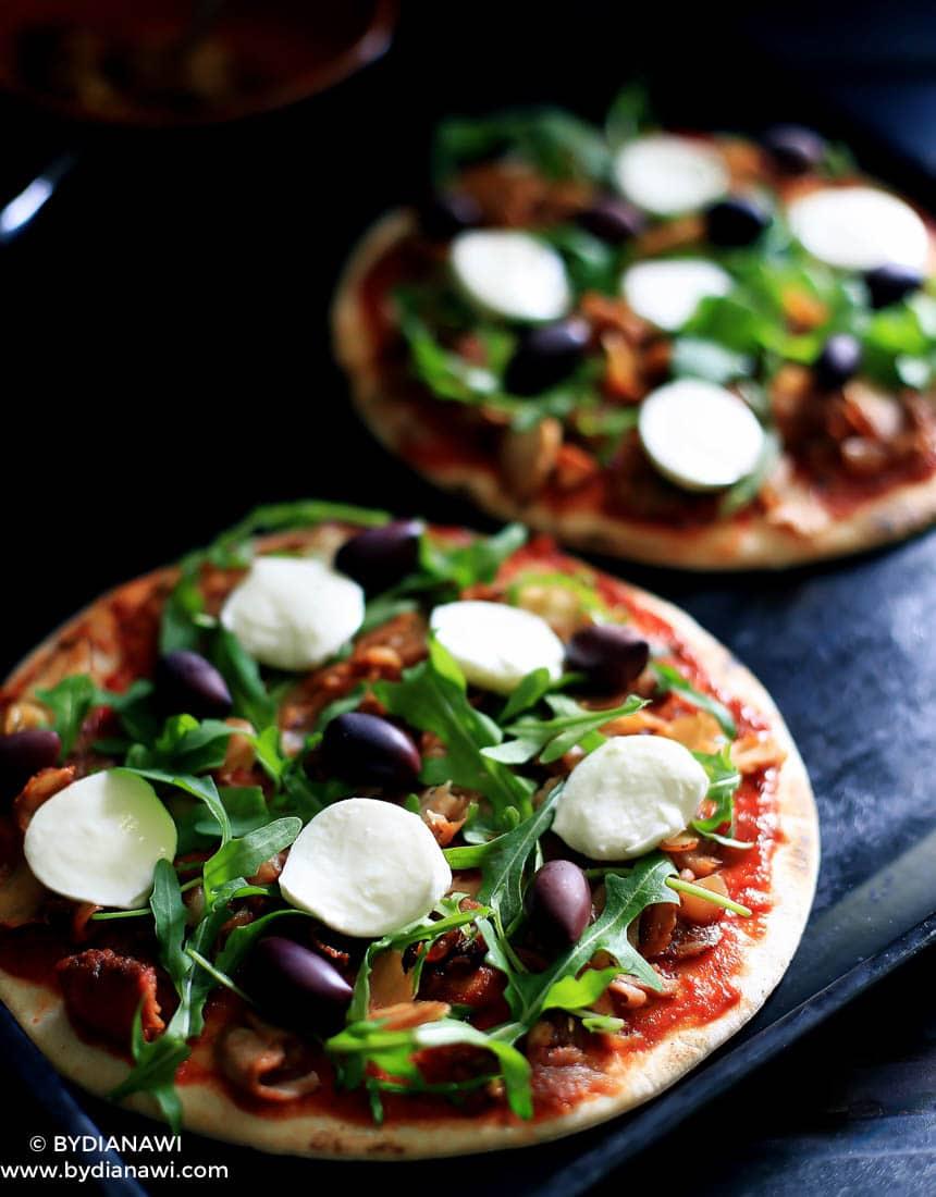 nem kylling kebab pizza opskrift