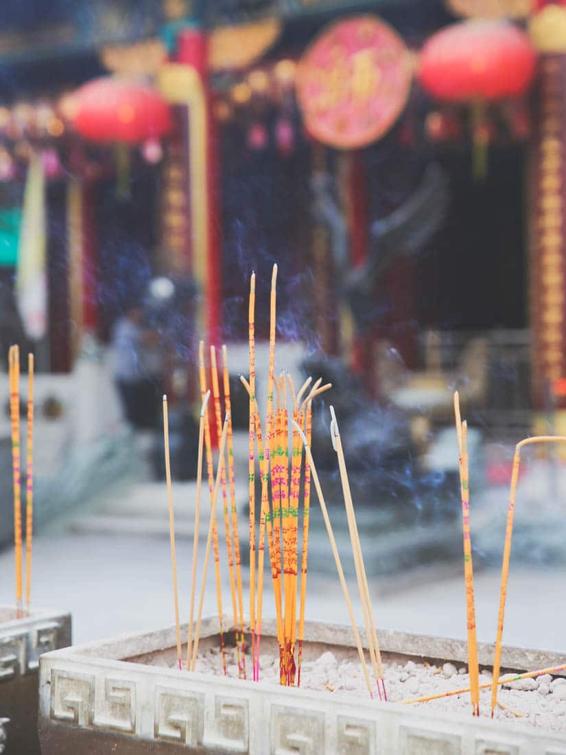 tempel i Hong Kong