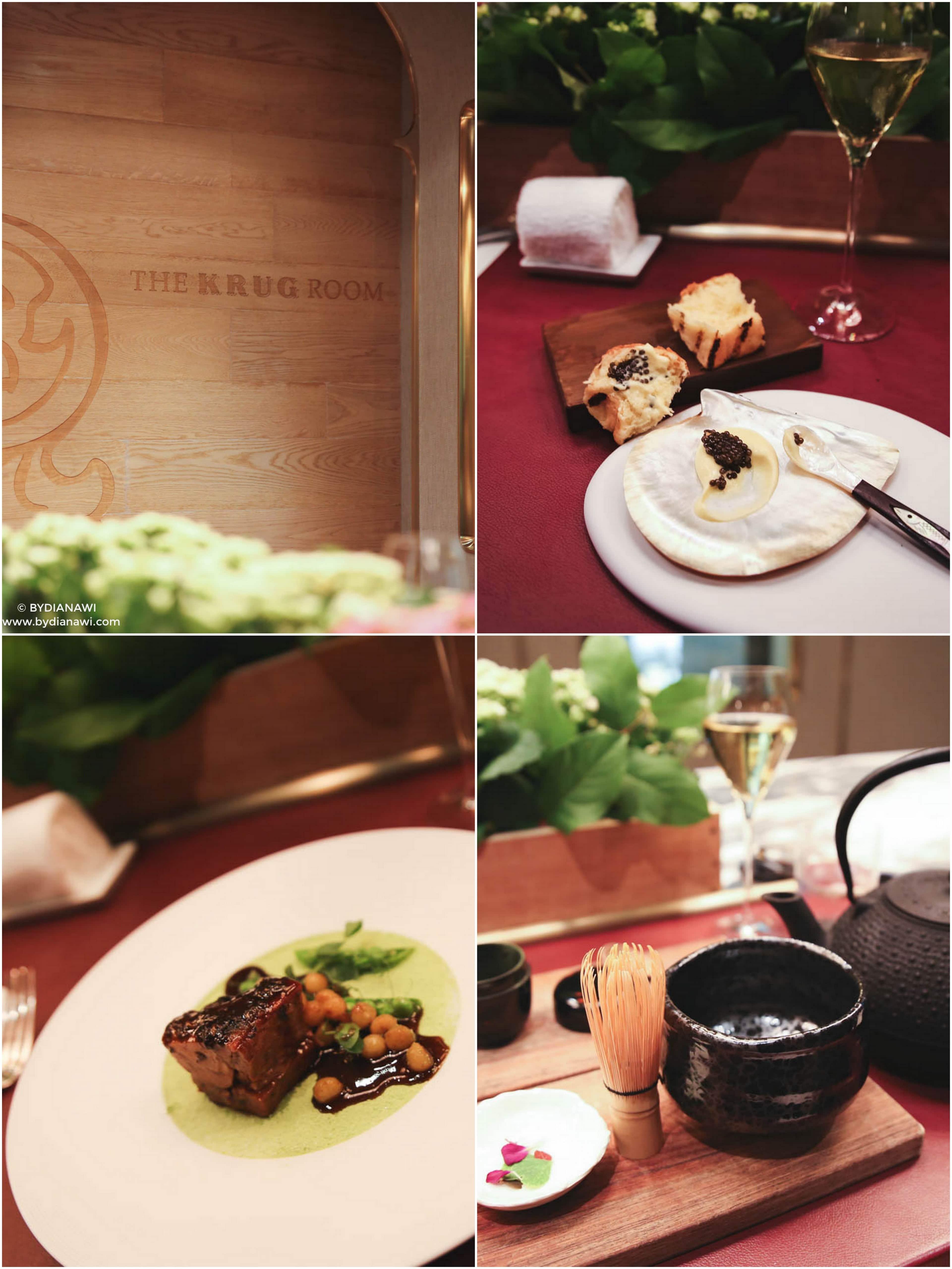 Krug room Mandarin Oriental hotel Hong Kong