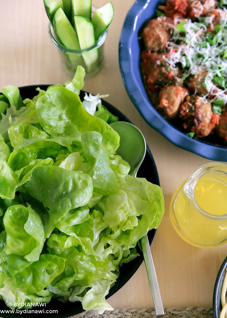 italienske kødboller opskrift, sommersalat let