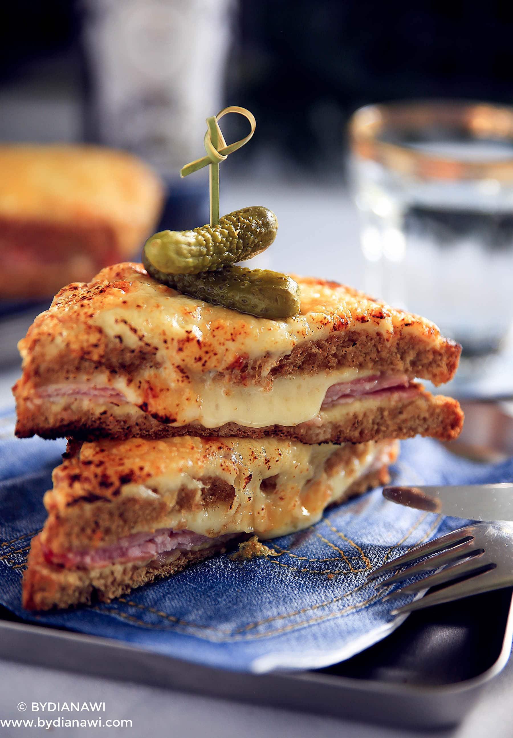 Croque Monsieur og Croque Madame - opskrift på de bedste sandwich med ost og skinke