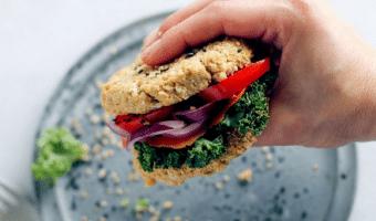 Falafel brød med blomkål – opskrift på grøntsagsbrød uden mel