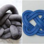 Sådan laver du en knyttet pyntepude – DIY