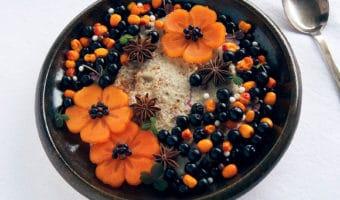 Quinoagrød med power