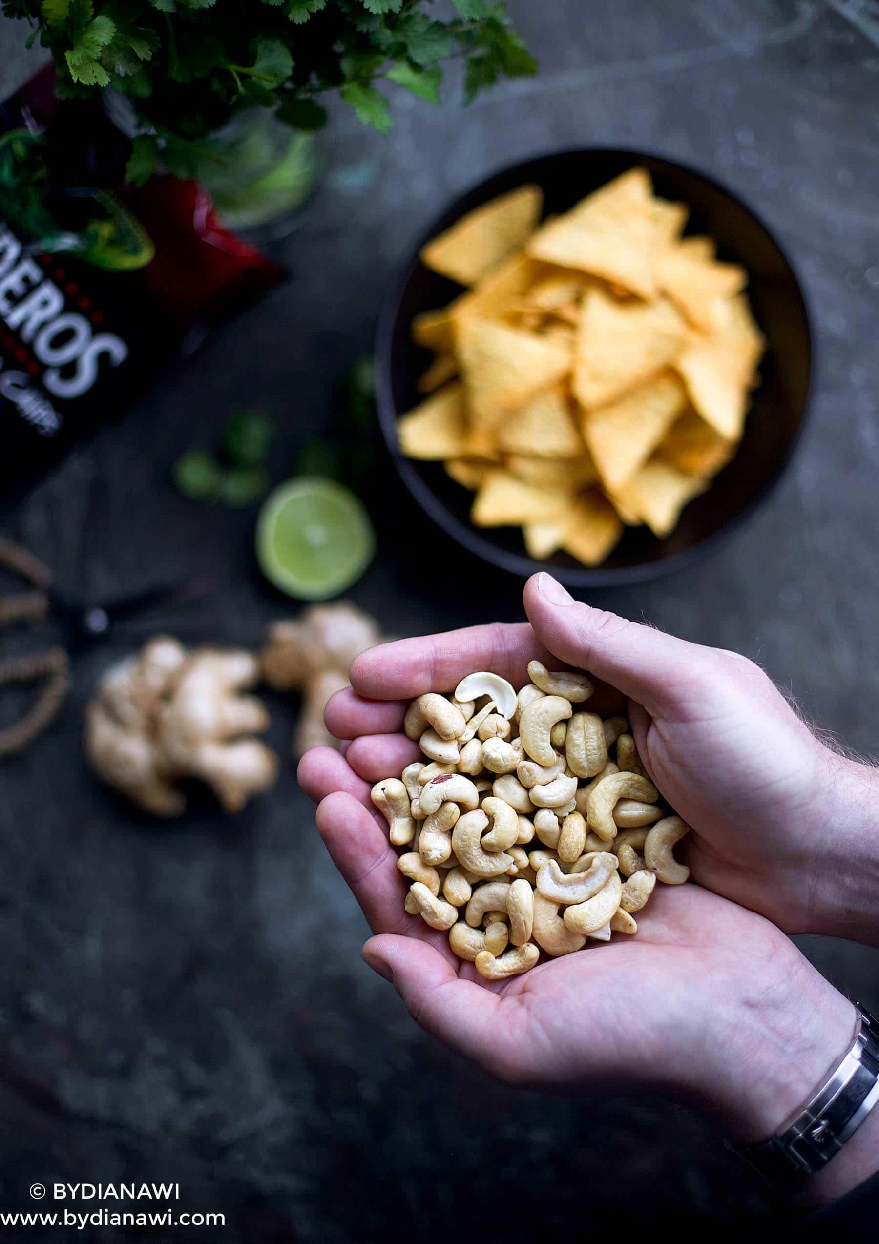 cashewdressing, cashewnødder - perfekt mælkefrit alternativ