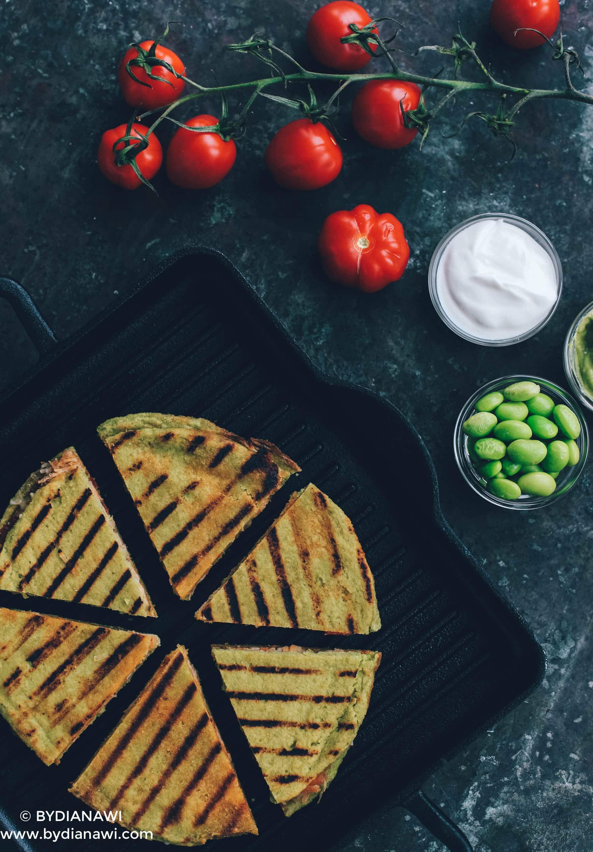 quesadillas, low carbo, inspiration til madpakker, edamame tortillas, proteiner