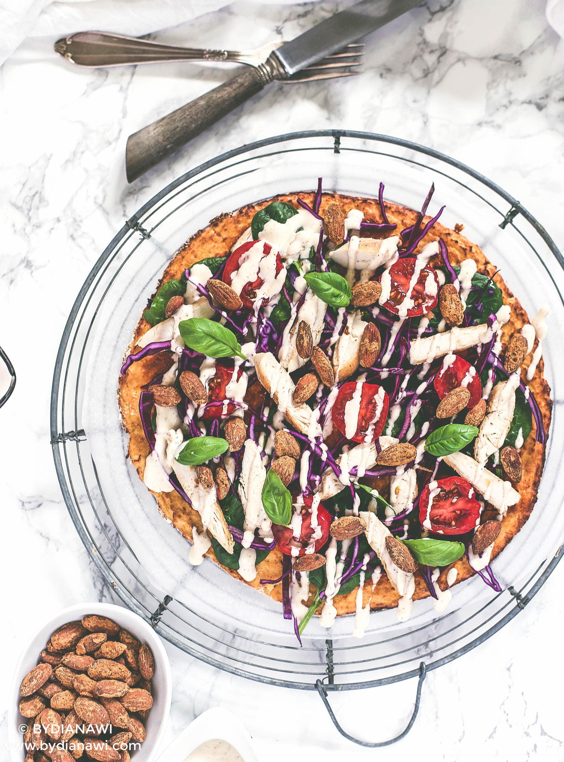 blomkålspizza, blomkåls tortillas, low carb wraps