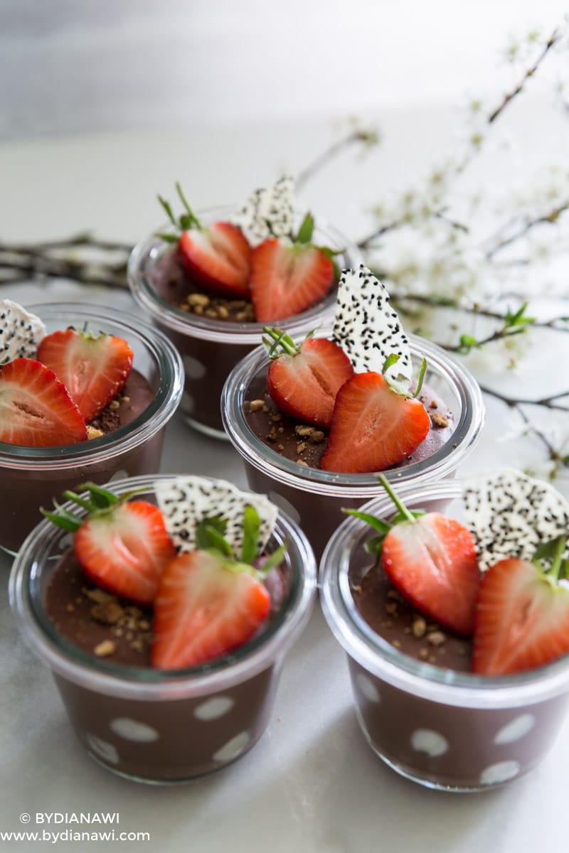 dessert med skyr, sund mellemmåltid, slankekost