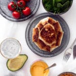 Mexikanske tortilla ufoer med oksekød, spinat og masser af snask