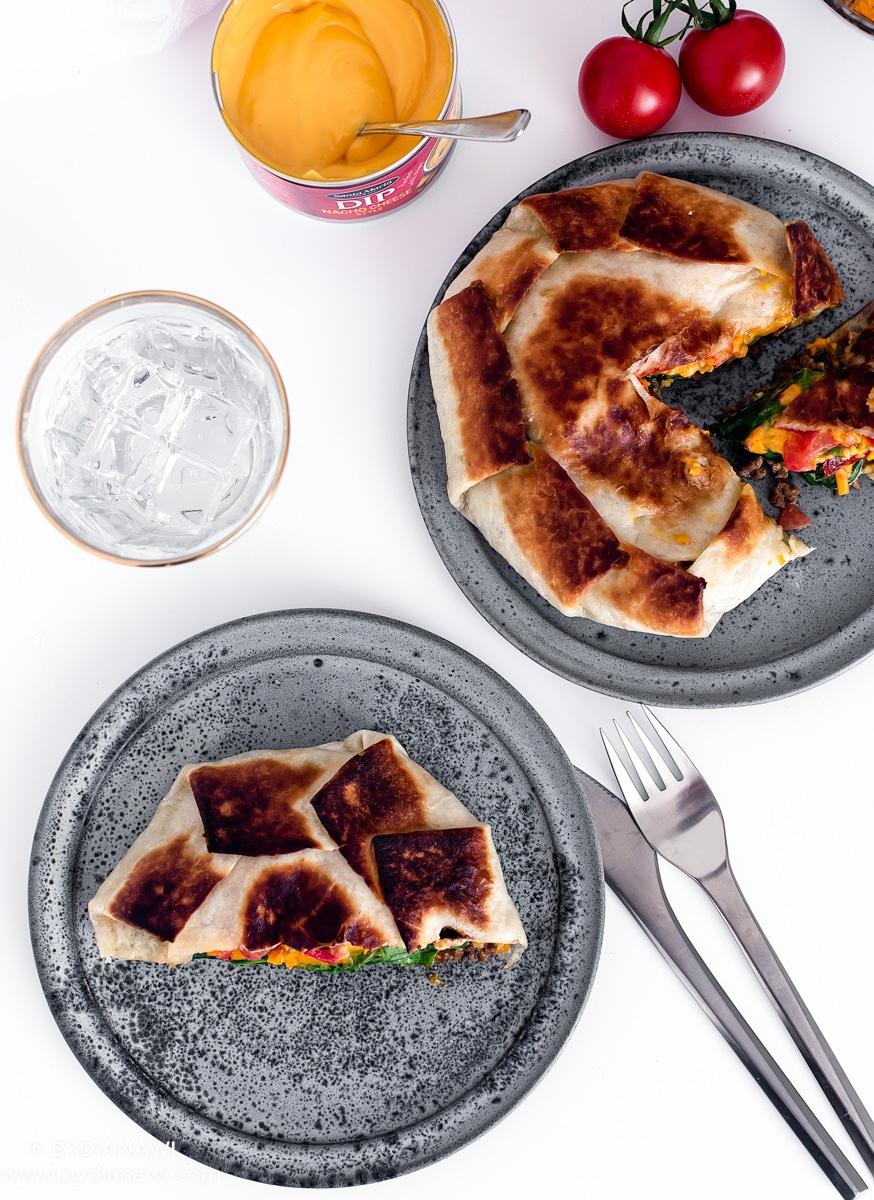 mexikansk mad, mexikanske pandekager, nem aftensmad