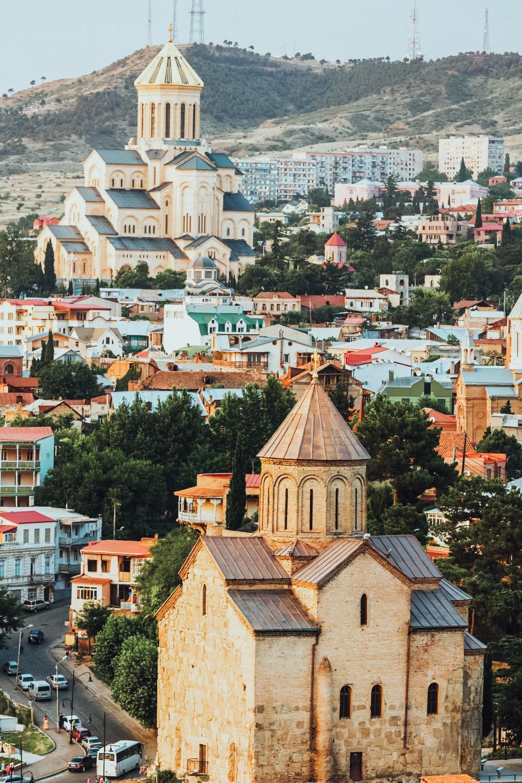 rejse til georgien, tbilisi, old tbilisi