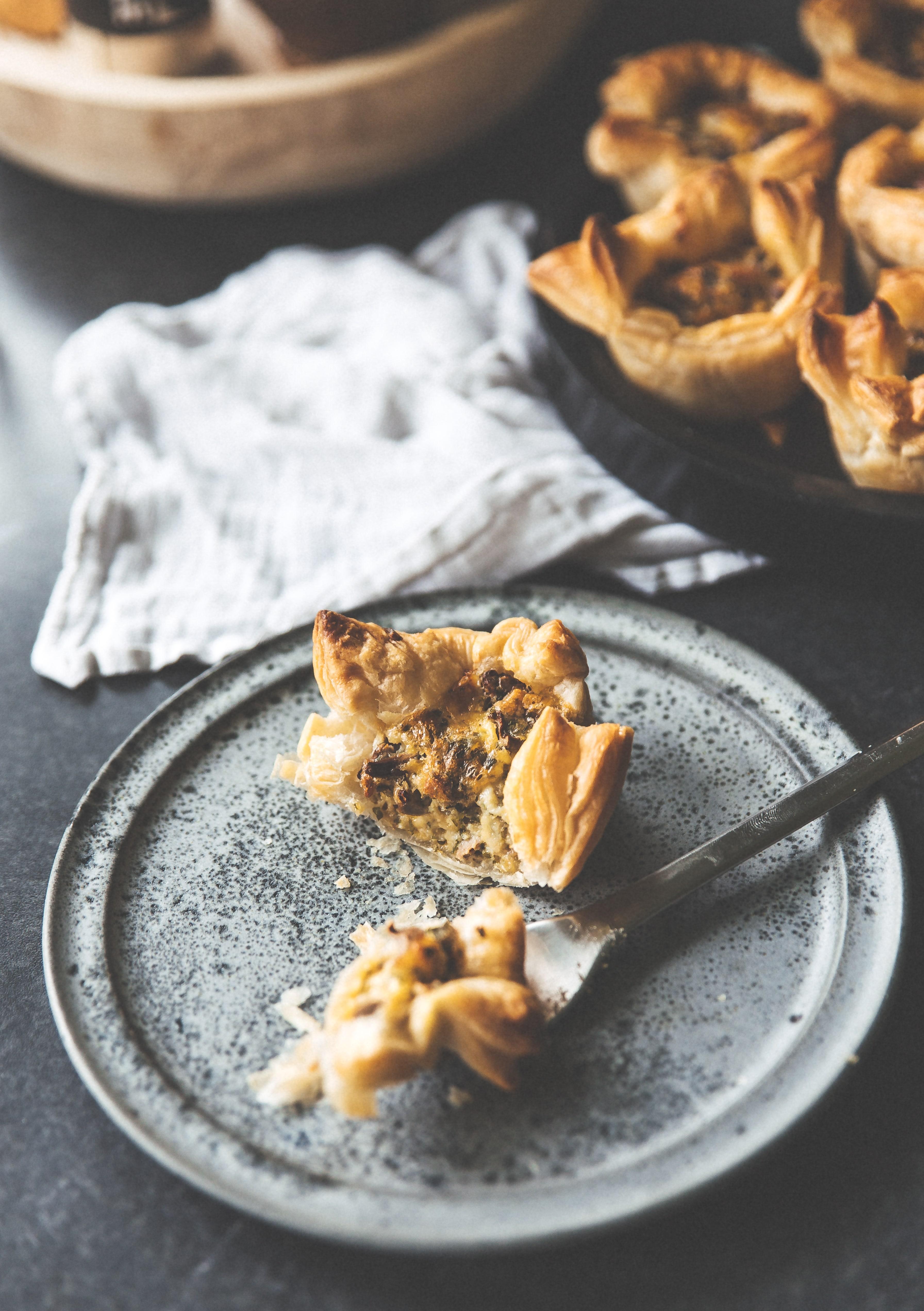 kantareller, butterdejs muffins, hapsere