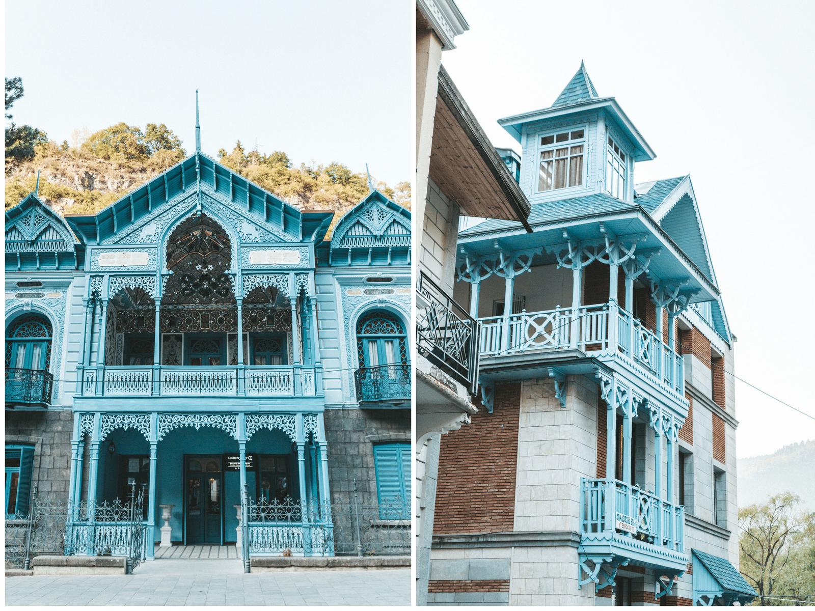 Rejse til Borjomi, Gerogien