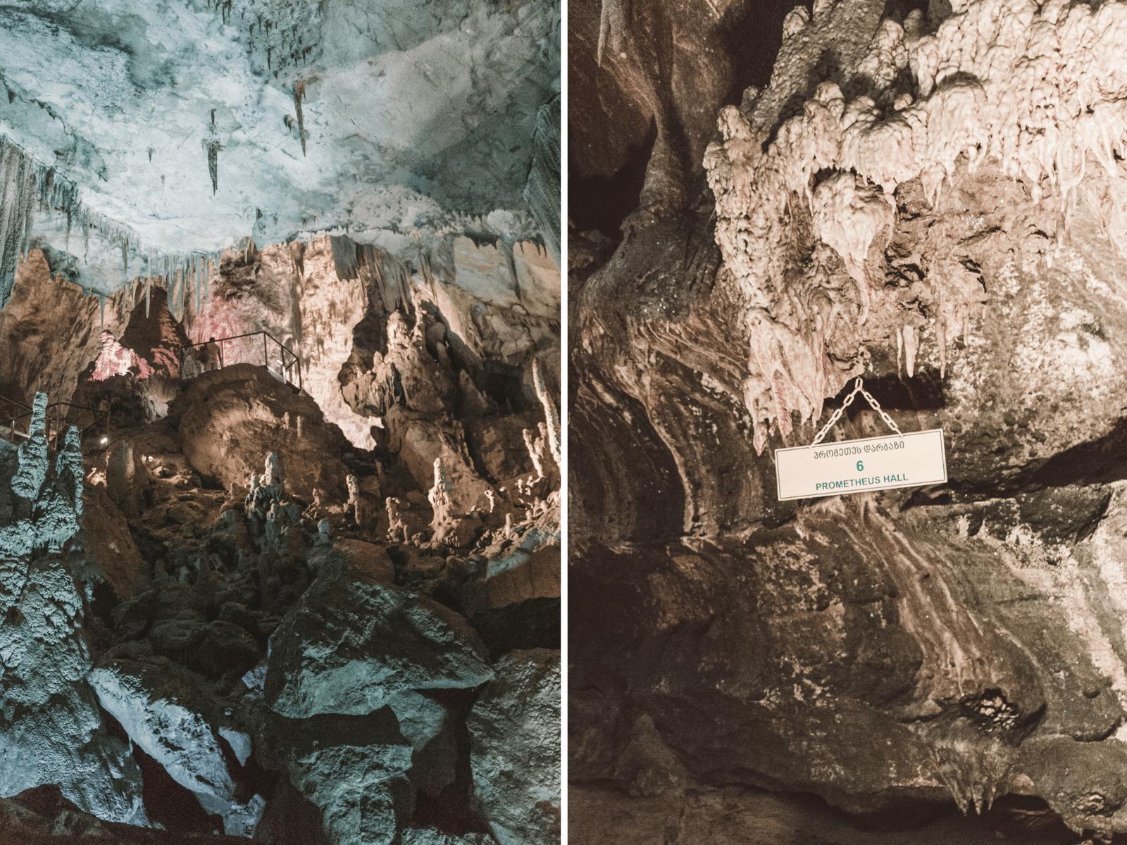 Rejse til Georgien, Prometheus Caves