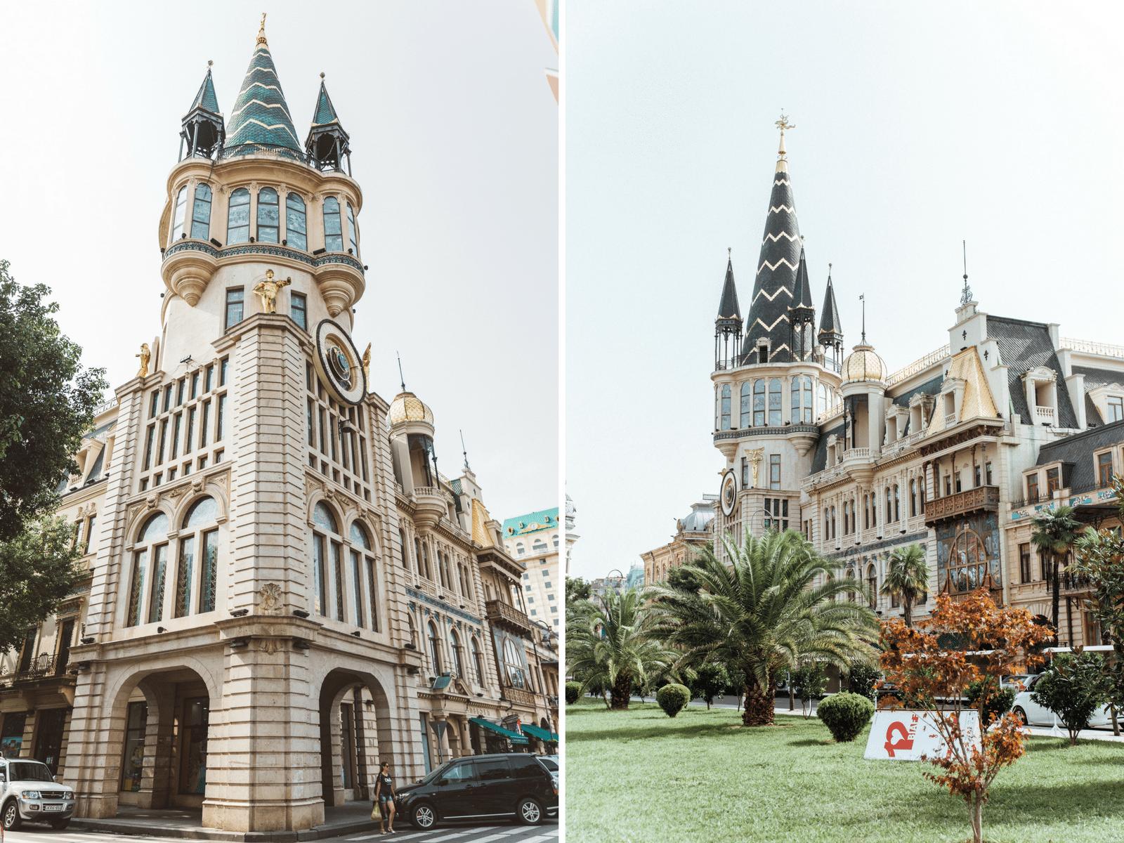 Rejse til Batumi, Georgien, Tbilisi