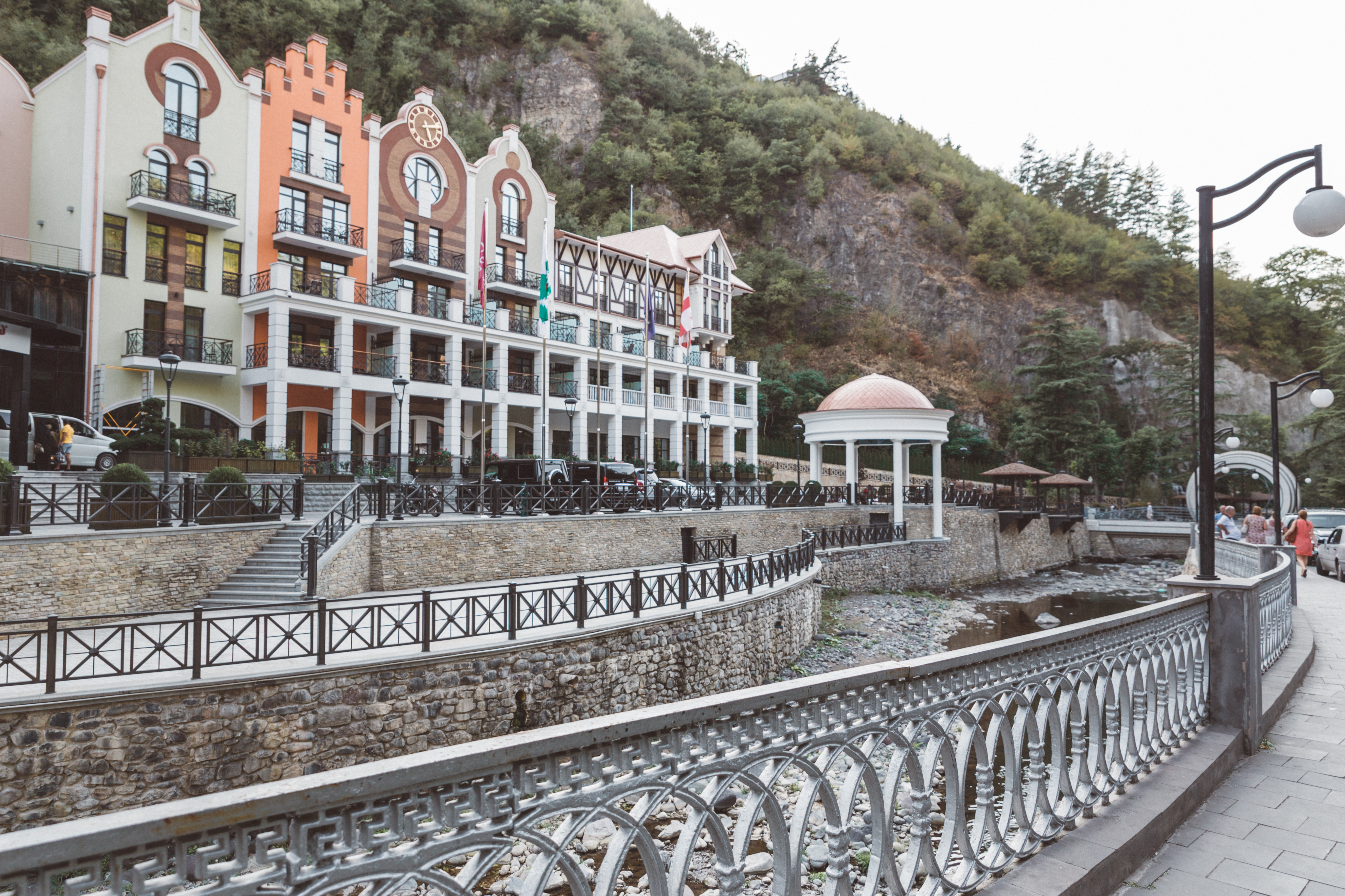 Rejse til Georgien, Borjomi, Georgia, Tbilisi
