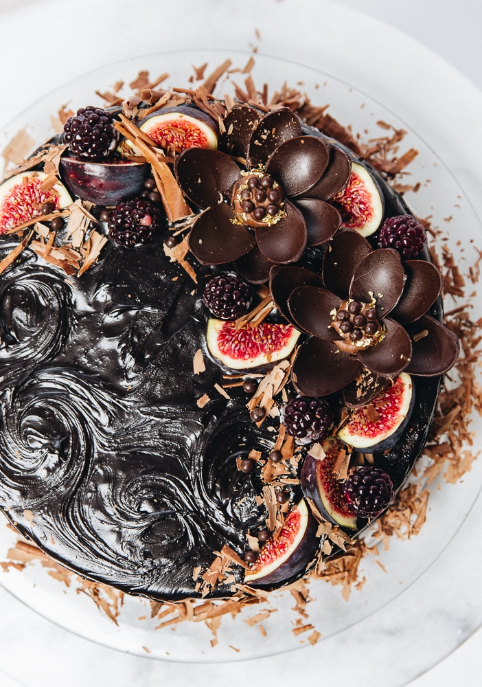 mælkesnitte kage, chokoladekage til fest opskrift