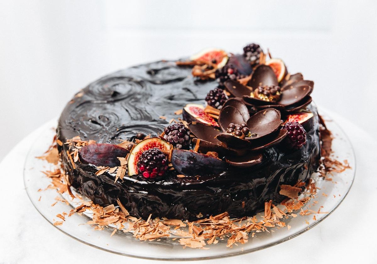 mælkesnitte kage, chokoladekage opskrift