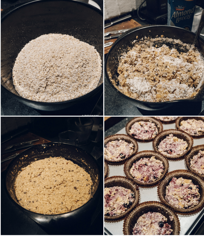 bagt havregrød, havregrødsmuffins, sunde snacks, proteiner, morgenmad