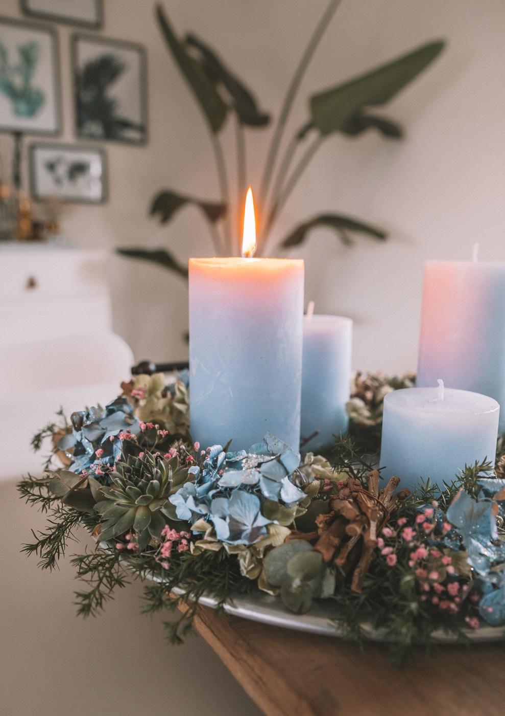 inspiration til adventskrans, jul, julepynt